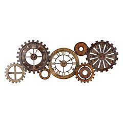 7 pc Spare Parts Wall Clock Set