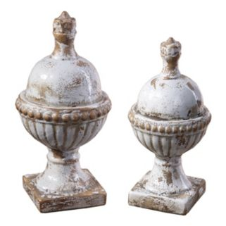 2-pc. Sini Finials Decor Set
