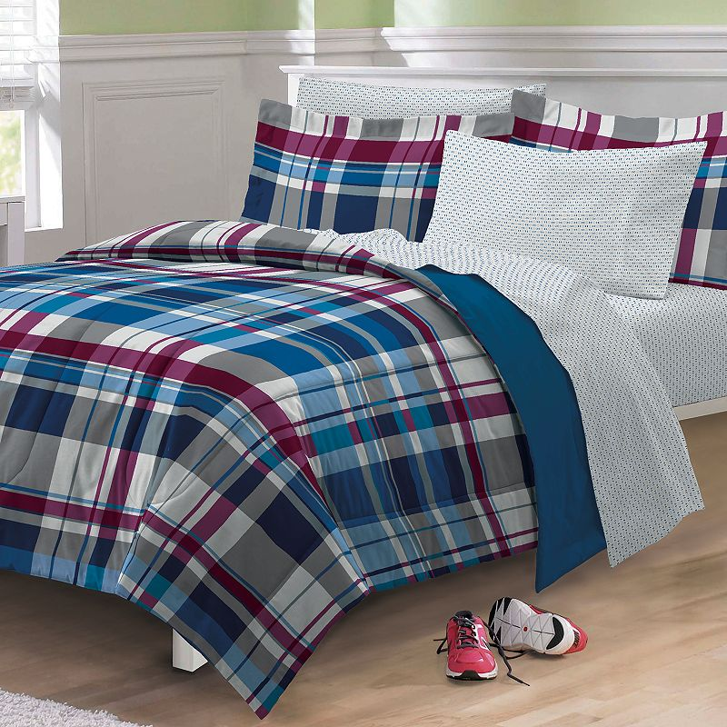 My Room Varsity Plaid 5-pc. Bed Set - Twin