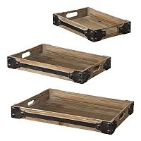 3-pc. Fadia Tray Set