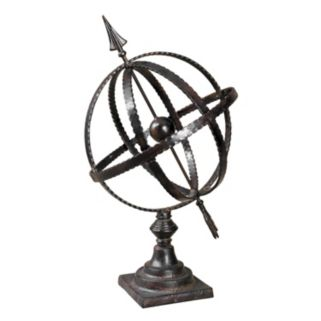 Diez Metal Globe Decor