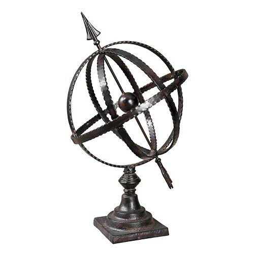 Diez Metal Globe Decor