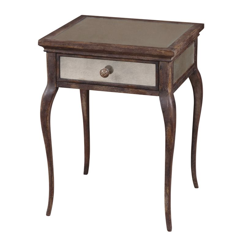 St. Owen End Table, Brown