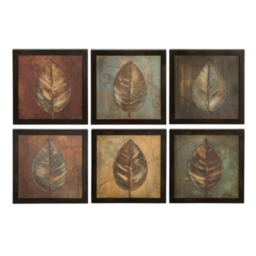 6-pc. New Leaf Panel Framed Wall Art Set