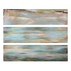 3-pc. ''Horizon View'' Panel Canvas Wall Art Set