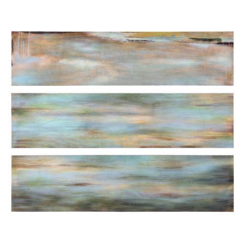 3-pc. ''Horizon View'' Panel Canvas Wall Art Set