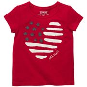 OshKosh B'gosh Heart Flag Tee - Toddler