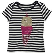 OshKosh B'gosh Striped Ice Cream Cone Tee - Toddler