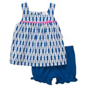 Carter's Geometric Knit Tank and Shorts Set - Toddler