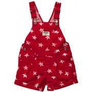 OshKosh B'gosh Star Shortalls - Toddler