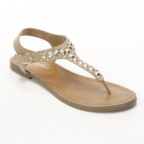 Candie's® Studded Thong Sandals - Women