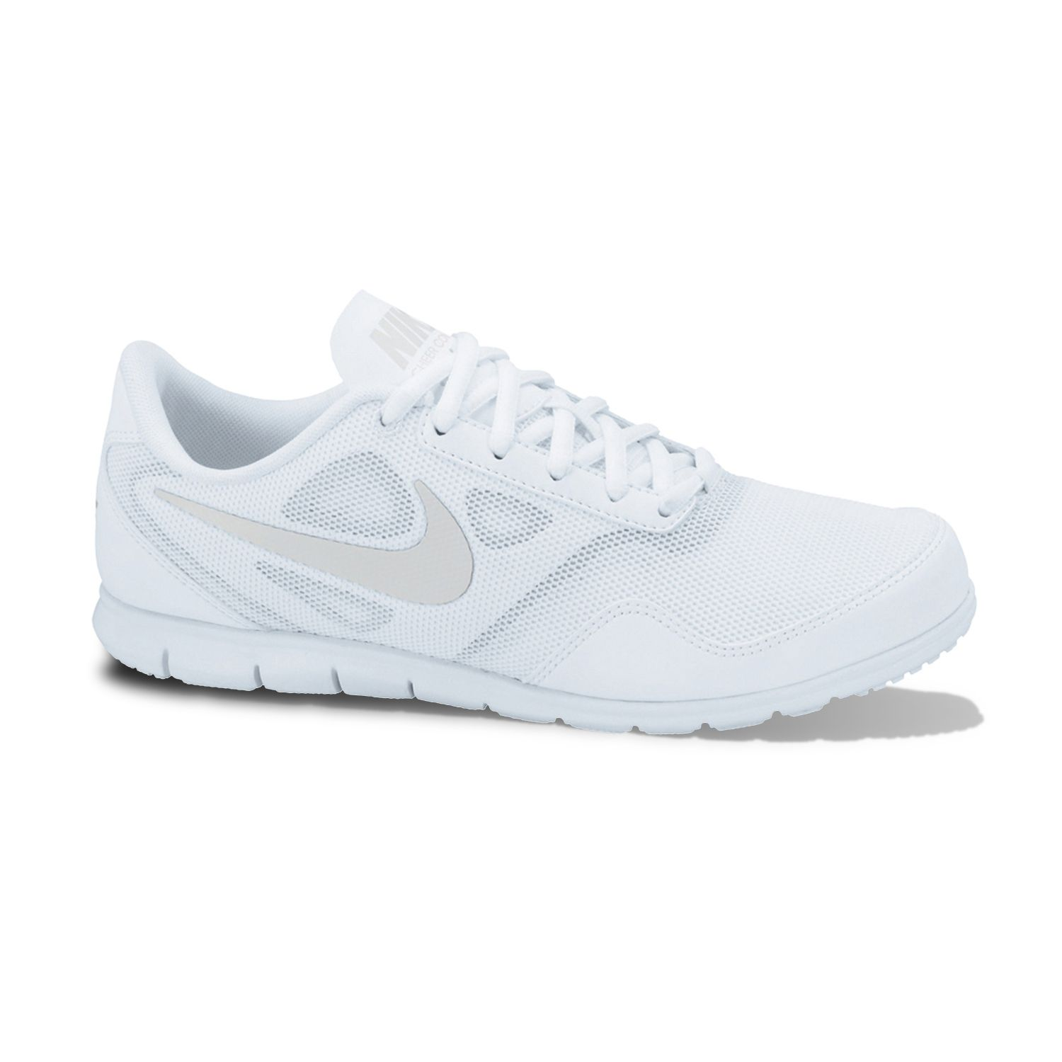 Nike White Cheer Compete High-Performance Cheer Shoes - Women