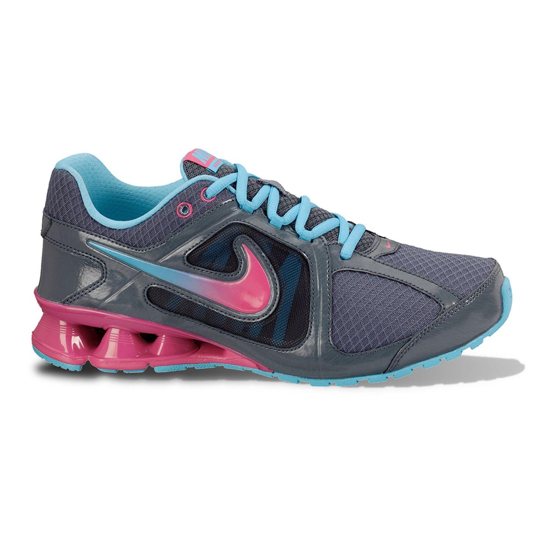 Nike Blue Reax Run 8 High-Performance Running Shoes - Women