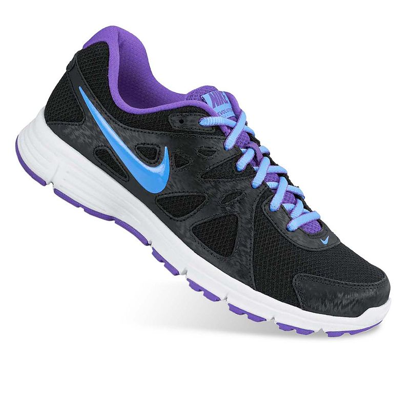 Nike Grey Revolution 2 Running Shoes - Women