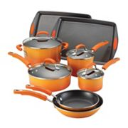 Rachael Ray 12-pc. Porcelain Cookware Set