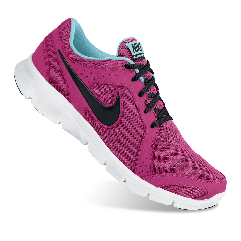 Nike Red Flex Experience Run 2 Running Shoes - Women