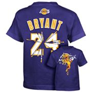 adidas Los Angeles Lakers Kobe Bryant Broken Tee - Boys 8-20
