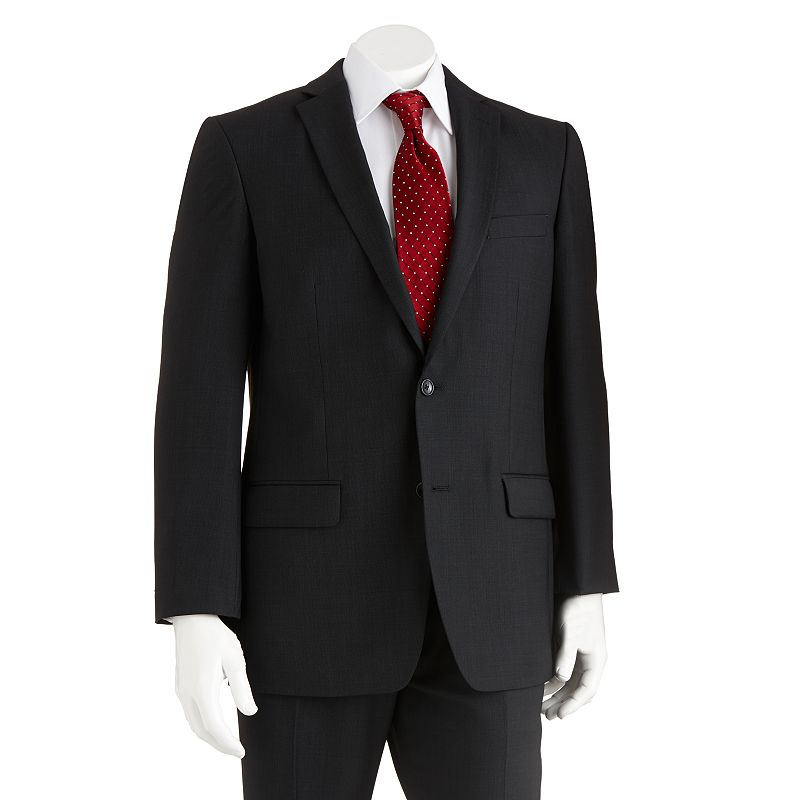 Marc Anthony Modern-Fit Wool Black Suit Coat - Men