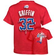 adidas Los Angeles Clippers Blake Griffin Broken Tee - Boys 8-20