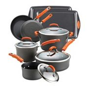 Rachael Ray 12-pc. Hard-Anodized Cookware Set