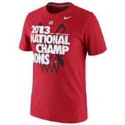 Nike Louisville Cardinals 2013 NCAA Basketball National Champions Tee - Men