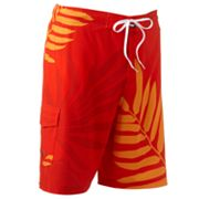 SONOMA life + style Leaf Stretch Swim Trunks