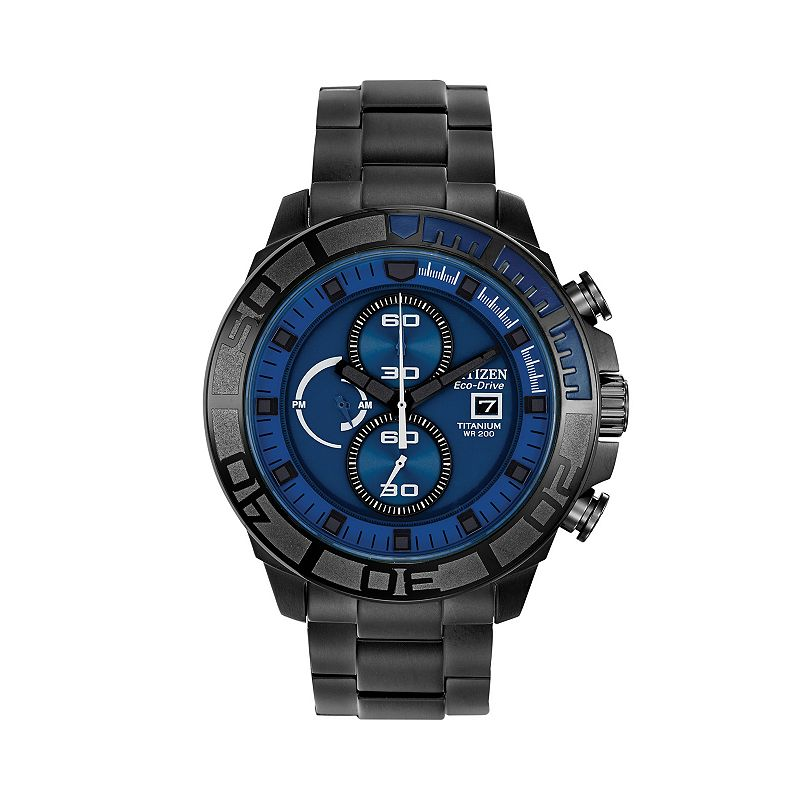 Blue crystal chronograph watch kohl 39 s for Watches kohls