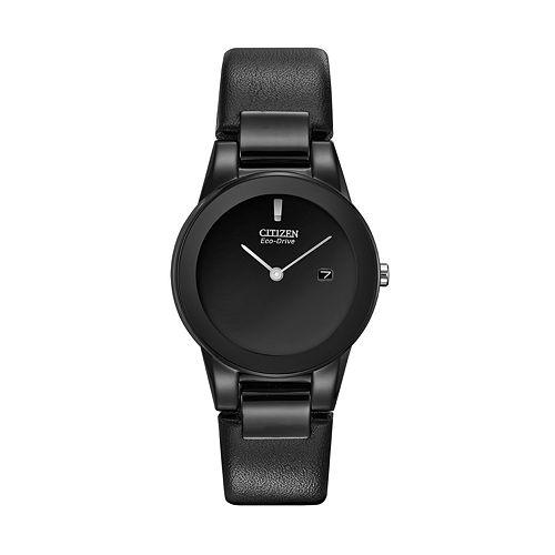 Citizen Eco-Drive Women's Leather Watch - GA1055-06E