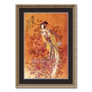 Goddess of Prosperity Framed Art Print