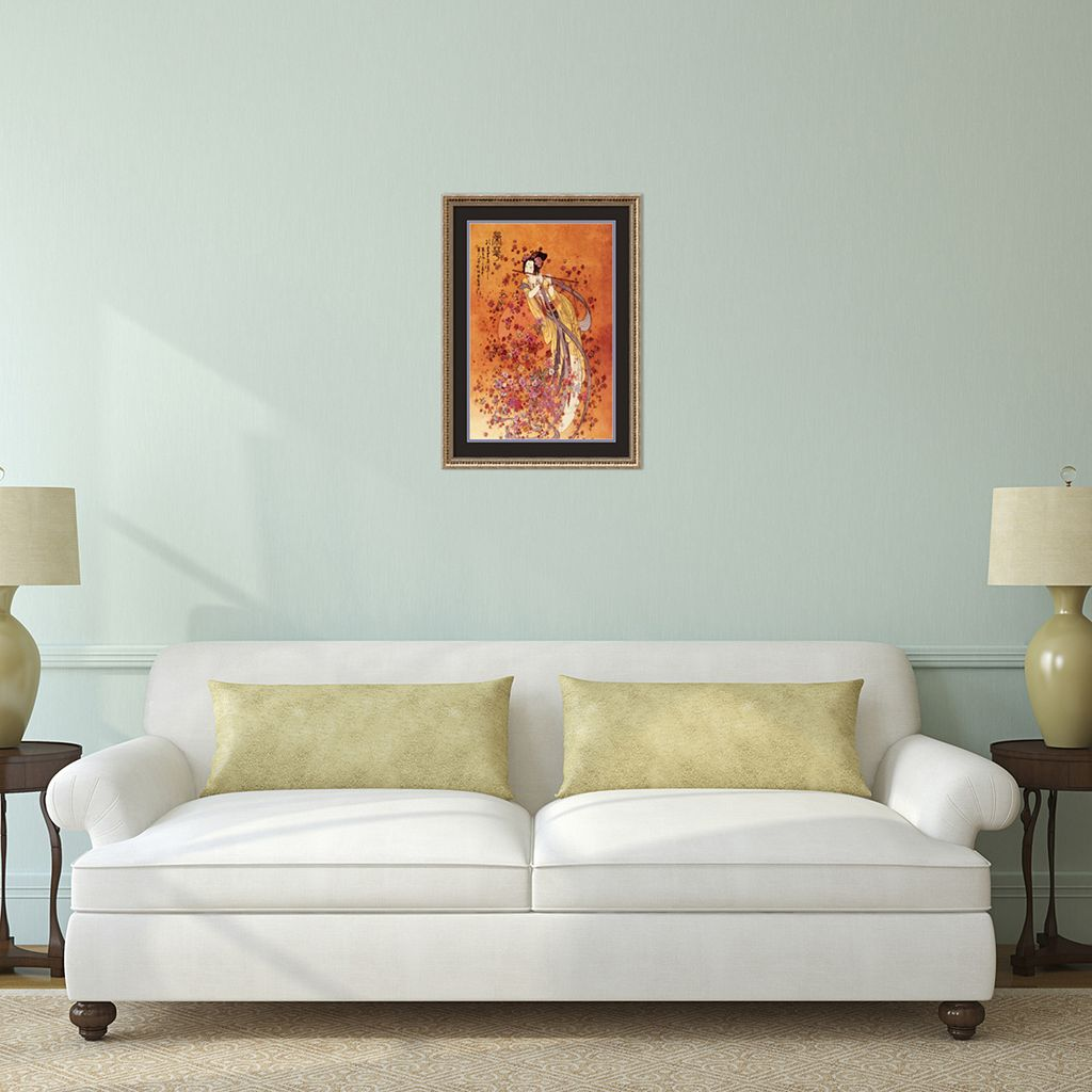 Goddess of Prosperity Framed Art Print