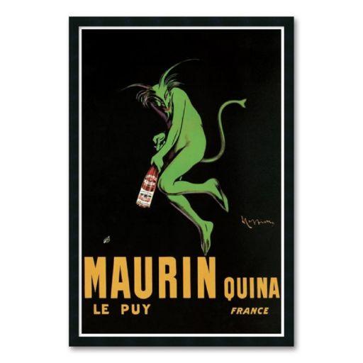 Maurin Quina, c. 1920 Framed Art Print by Leonetto Cappiello