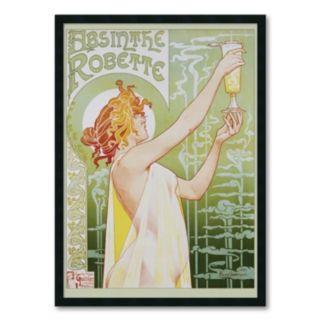 """Amanti Art """"Absinthe Robette"""" Framed Art Print"""