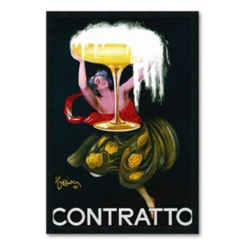 Contratto, c. 1922 Framed Art Print by Leonetto Cappiello