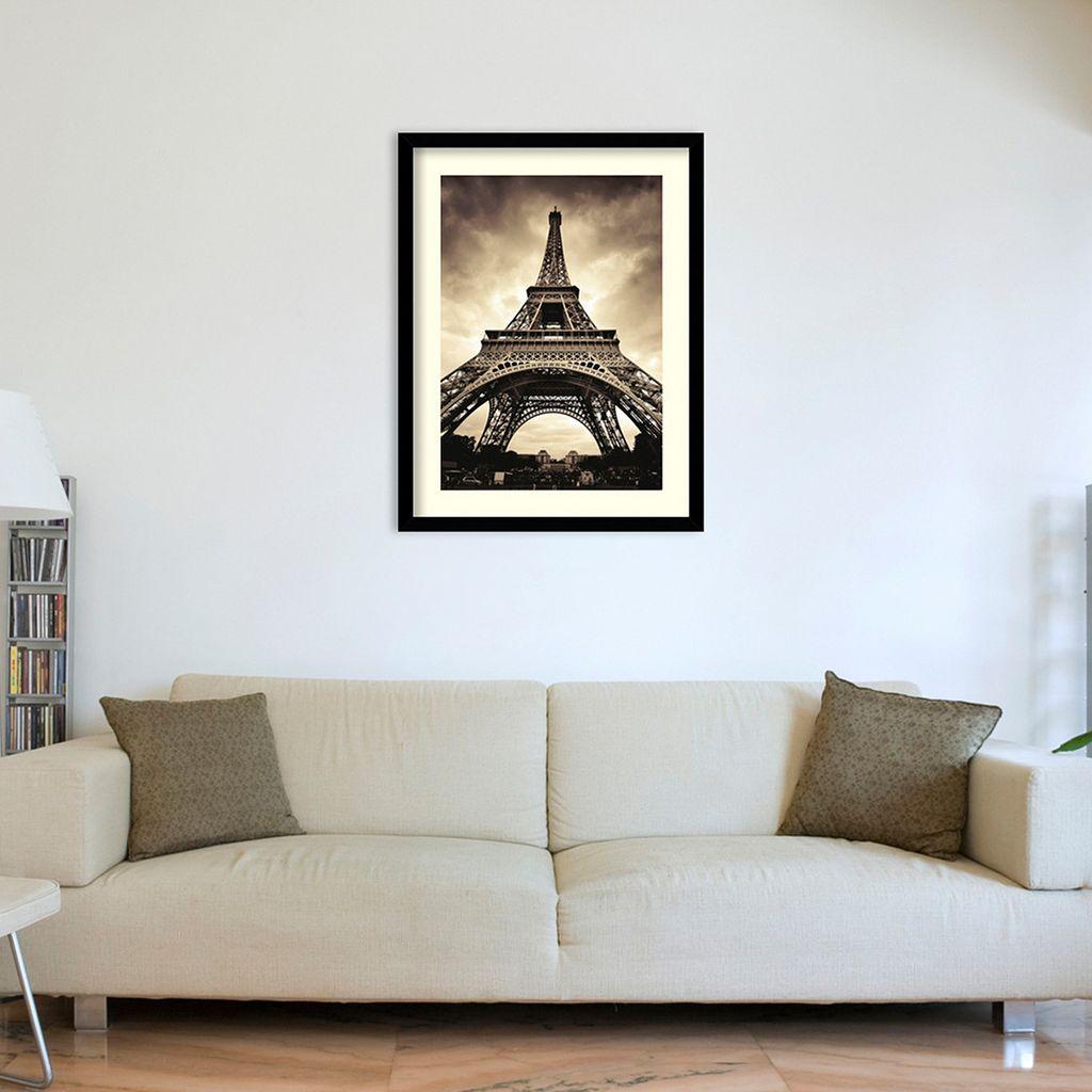 Paris Eiffel Tower Framed Art Print by Marcin Stawiarz