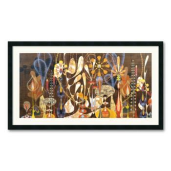 Megalaria Framed Art Print by Rex Ray