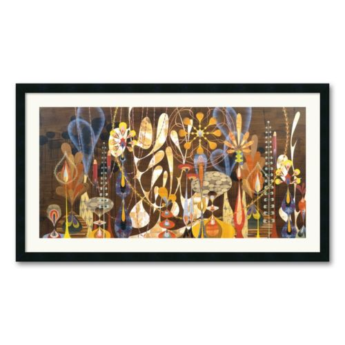 Megalaria Framed Art Print by Rex Ray
