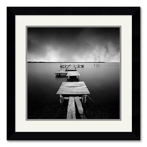 """Fragments"" Framed Art Print by Moises Levy"