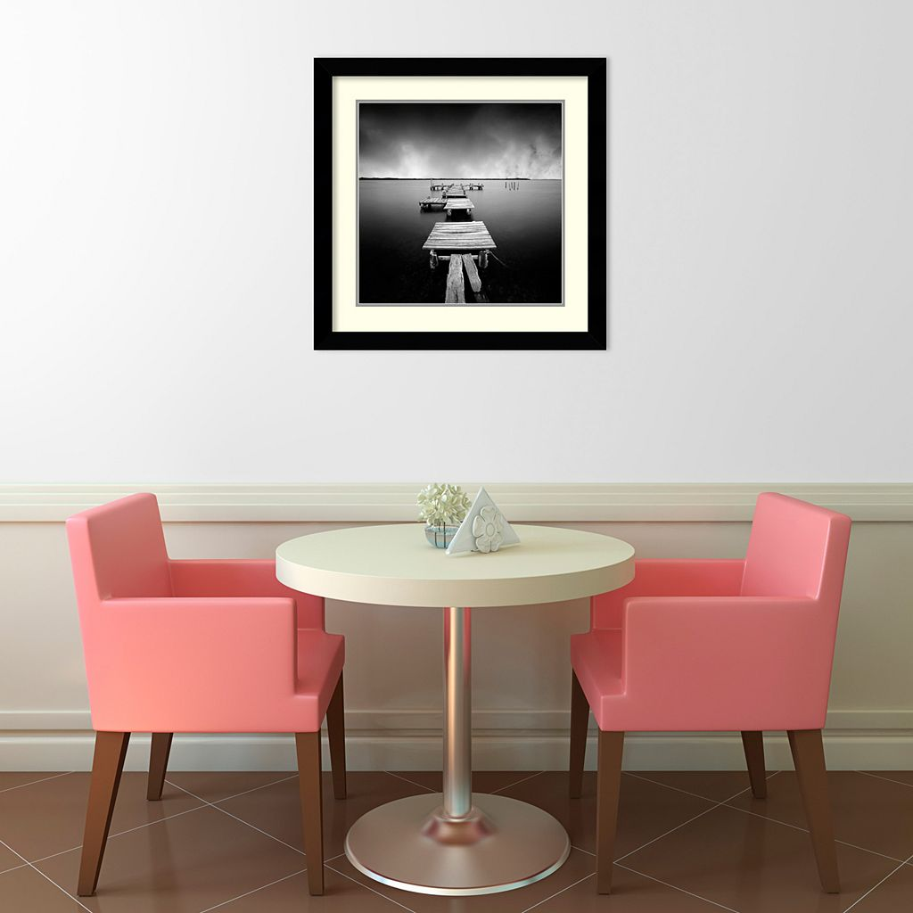 Fragments Framed Art Print by Moises Levy