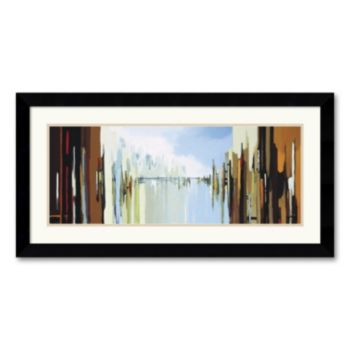 Urban Abstract No. 242 Framed Art Print by Gregory Lang