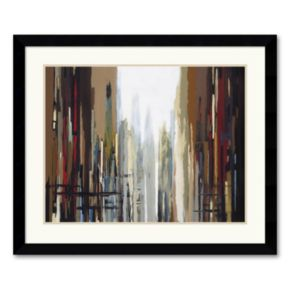 Urban Abstract No. 159 Framed Art Print by Gregory Lang