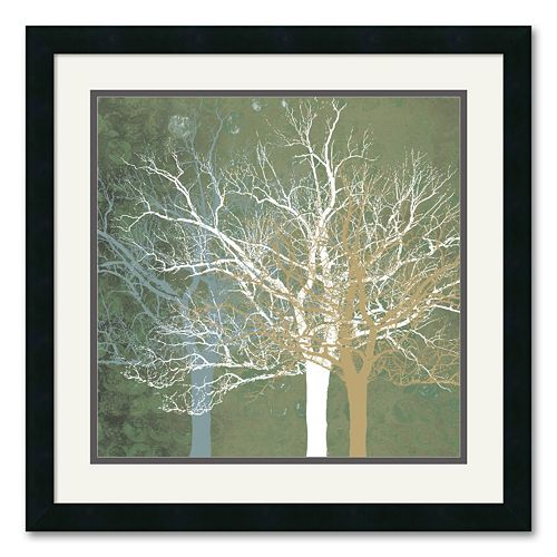 """Quiet Forest"" Framed Art Print by Erin Clark"