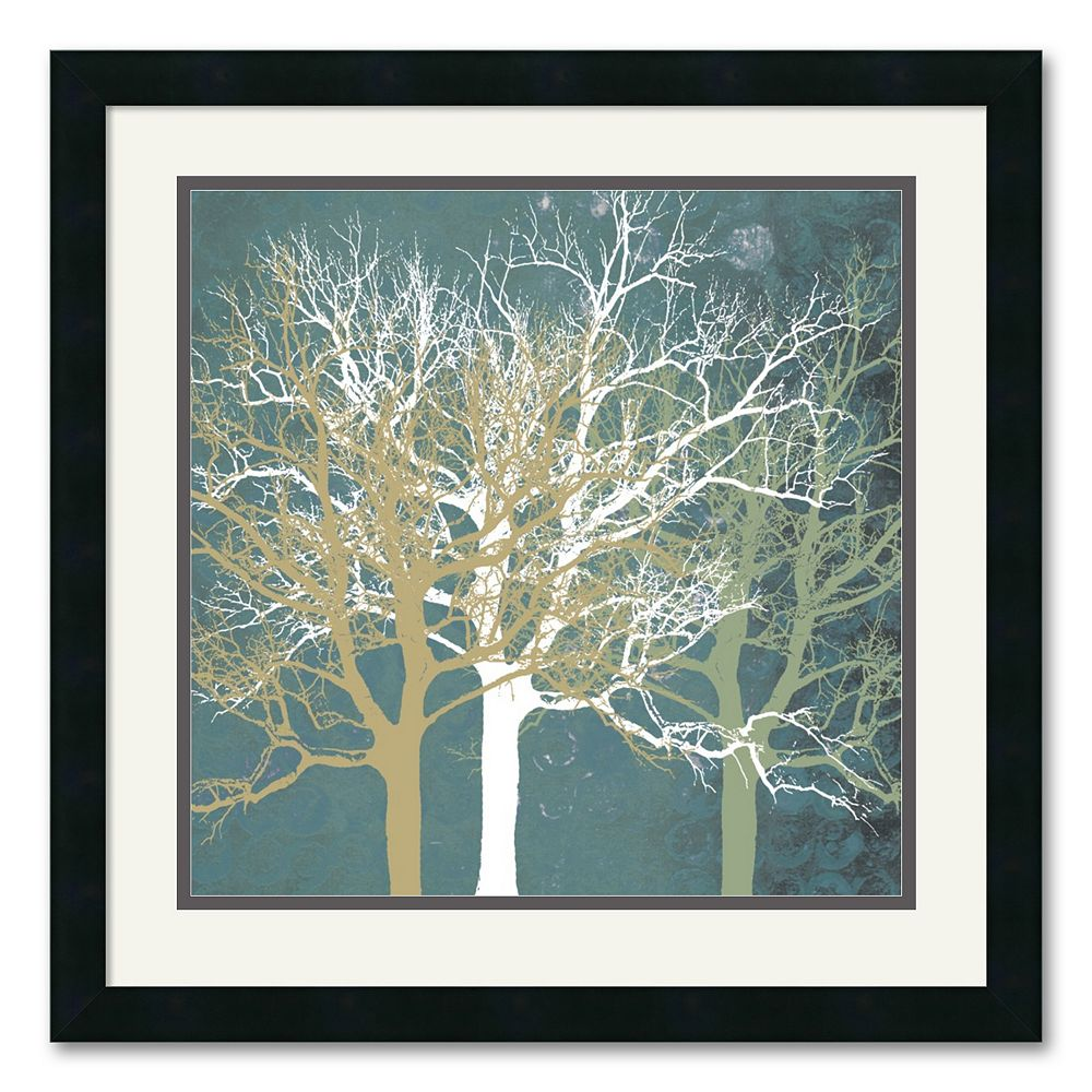 """""""Tranquil Trees"""" Framed Art Print by Erin Clark"""