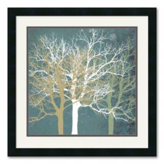 Tranquil Trees Framed Art Print by Erin Clark