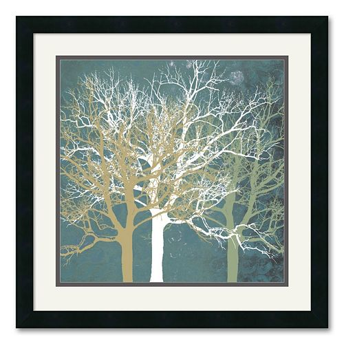 """Tranquil Trees"" Framed Art Print by Erin Clark"