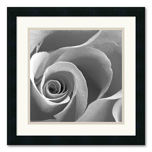 """Rose Spiral II"" Framed Art Print"