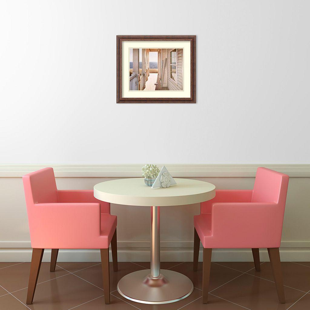 Serenity Framed Art Print by Daniel Pollera