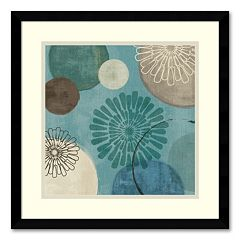 'Flora Mood II' Framed Art Print by Veronique Charron