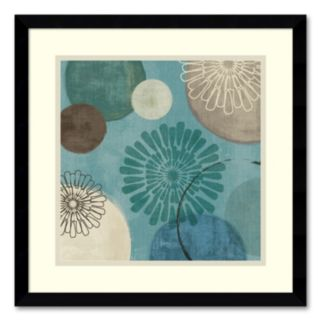 Flora Mood II Framed Art Print by Veronique Charron