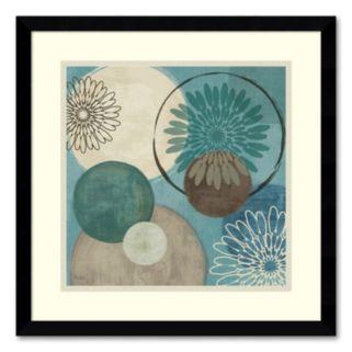 Flora Mood I Framed Art Print by Veronique Charron
