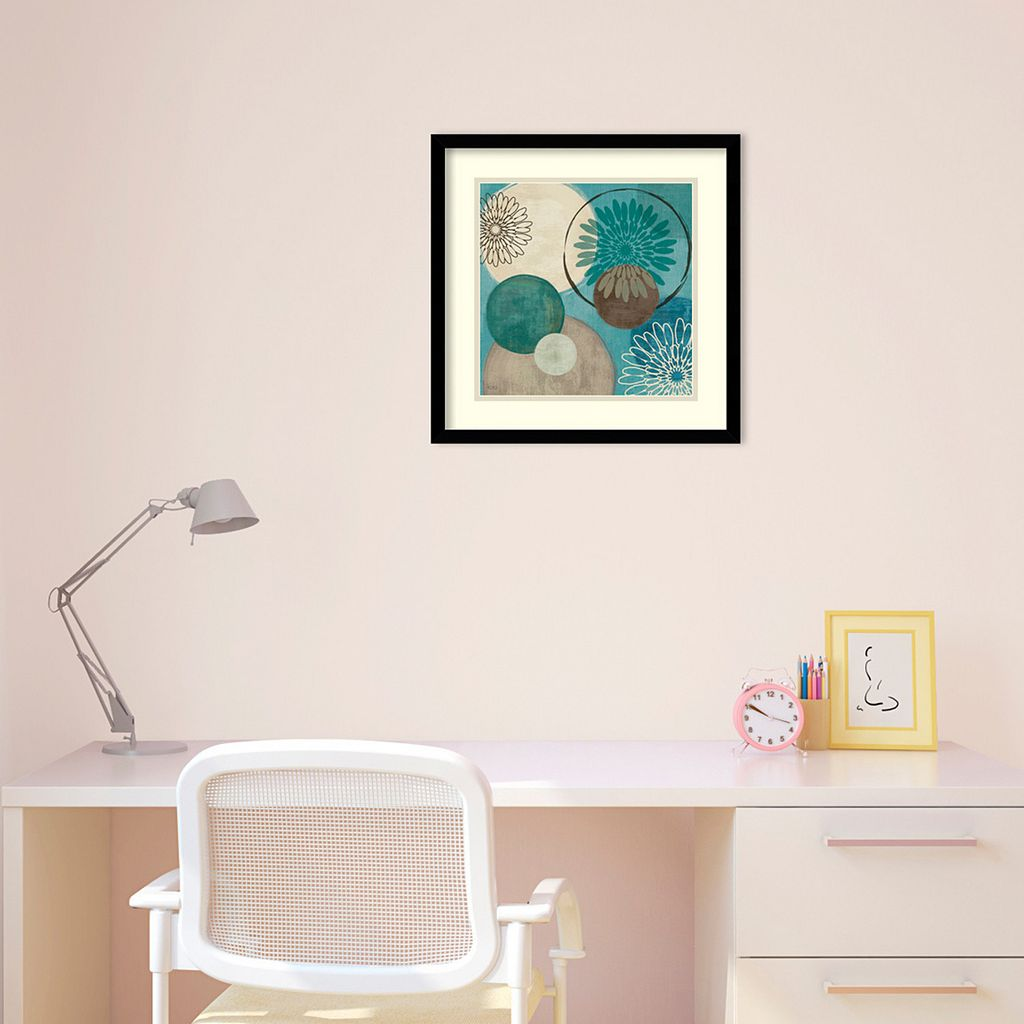 Flora Mood I Framed Art Print by Veronique Charron